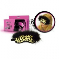 Fun fun supplies manufacturers customized Plush leopard eye patch stage props night activities